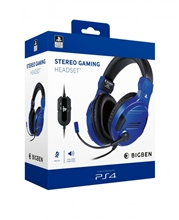 Big Ben Stereo Headset V3 - modrý (PS4)