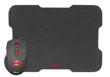set Trust Ziva Gaming Mouse with Mouse Pad (21963)