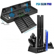 3in 1 Multi-Function Stand For PS4 Pro/PS4 Slim/PS4
