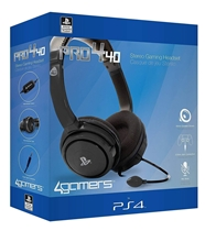 Pro4-40 Officially Licensed Stereo Headset (Black) (PS4)