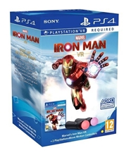 Sony PlayStation Move Twin Pack + Marvels Iron Man PS VR (PS4)