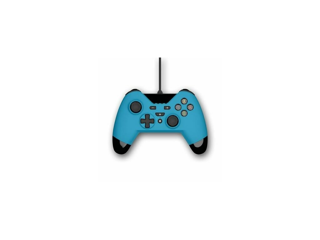 Gioteck WX4 Wired Blue Controller (PS3/PC/SWITCH)