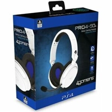 4Gamers PRO4-50S Officially Licensed Stereo Headset (White) (PS4)