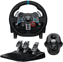 Logitech G29 Driving Force  + Logitech Driving Force Shifter (PC/PS3/PS4)