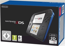 Nintendo 2DS Black & Blue (2DS)
