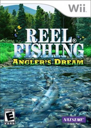 Reel Fishing: Anglers Dream + Prut (SLEVA) (Wii)