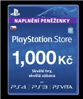 Sony PlayStation - Network Card 1000CZK