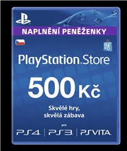 Sony PlayStation - Network Card 500 CZK