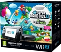 Nintendo WiiU Premium Pack Black + New Super Mario Bros + New Super Luigi (WiiU)