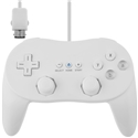 Wired Classic Controller Pro (white) (Wii/WiiU)