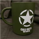 Call of Duty WWII - Logo Freedom Star Steel Mug