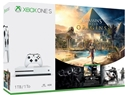 Xbox One S 1TB White + Assassins Creed Origins + Rainbow Six Siege (X1)