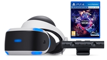 PlayStation VR V2 + Kamera v2 + VR Worlds (PS4)