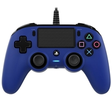 Nacon Wired Compact Controller Blue (PS4)