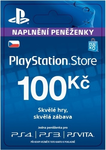 Sony PlayStation - Network Card 100CZK