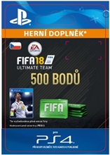FIFA 18 Ultimate Team - 500 FIFA Points (PS4)