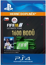 FIFA 18 Ultimate Team - 1600 FIFA Points (PS4)