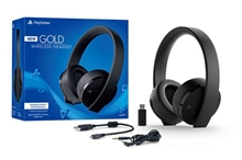 New Sony PlayStation Gold Wireless Stereo Headset (PS4/PS Vita)