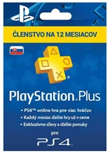 PlayStation Plus 365 Days SK (PS4/PS5)