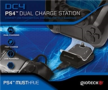 Gioteck DC4 Dual Charge Station (PS4)