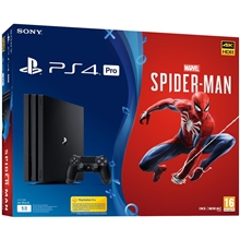 Sony PlayStation 4 Pro 1TB + Marvels Spider-Man (PS4)