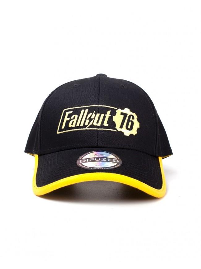 bf298296aed Kšiltovka Fallout 76 Logo žluto-černá