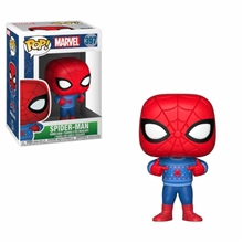 Figurka (Funko: Pop) Holiday Spider-Man - Spider-Man with Ugly Sweater