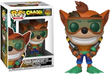 Figurka (Funko: Pop) Crash Bandicoot - Scuba Crash