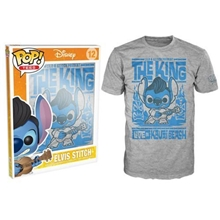 Tričko Funko POP Tees: Lilo and Stich Elvis Luau