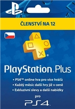 PlayStation Plus 365 Days CZ (PS4/PS5)