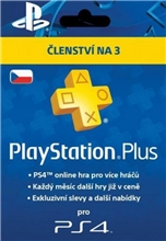 Playstation Plus 90 Days CZ (PS4/PS5)