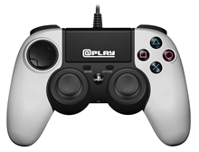 Officially Licensed PS4 wired controller - White (PS4)