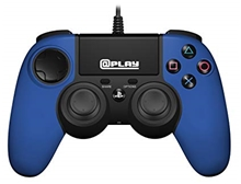 Officially Licensed PS4 wired controller - Blue (PS4)