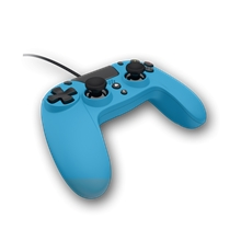 Gioteck VX4 Wired Premium Controller - modrý (PS4,PC)